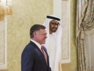 Jordanian King receives Abdullah bin Zayed in New York