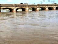 River Ravi flowing in low flood, Sutlej rising: Federal Flood Com ..
