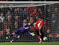 Lampard's Derby knock Man Utd out of League Cup, City ease into l ..