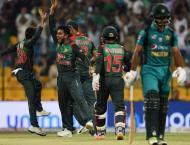 Cricket: Pakistan v Bangladesh Asia Cup scoreboard