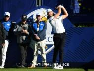 No pressure! Ryder Cup rookies out to combat nerves