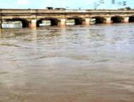 All main rivers flowing normal, slight fall in water reservoirs:  ..