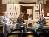 Jordanian King meets US arms control official