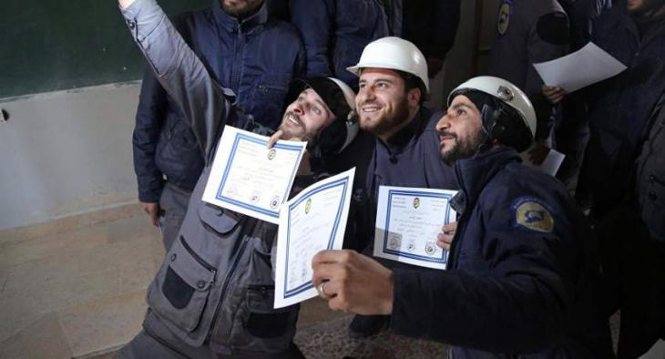 Syrian Activist Confirms White Helmets Arrived in Idlib for Staging Chemical Attack