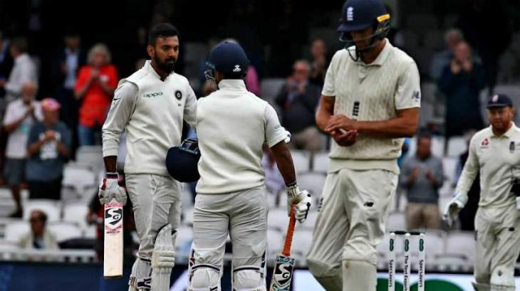 India 167-5 against England in fifth Test