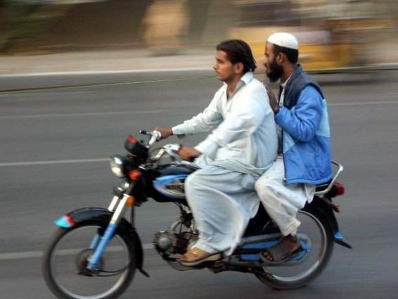 Ban on pillion riding during Muharram in Quetta