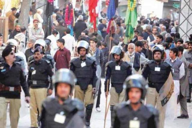 Police directed to remain vigilant in Muharram in Peshawar