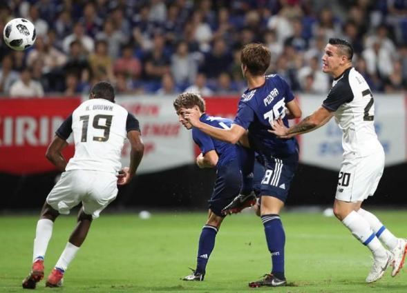 Japan crush Costa Rica in dream start for new boss