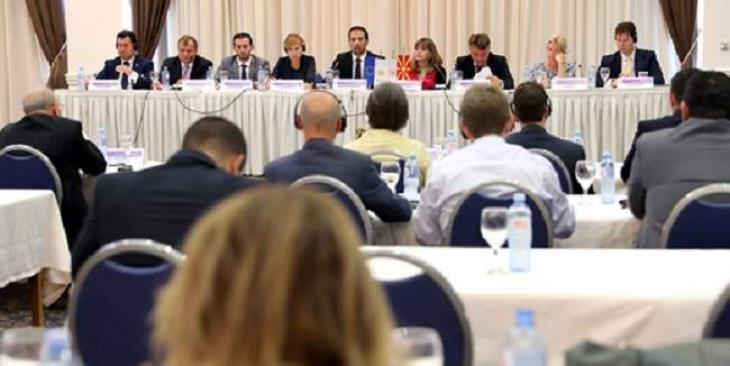 Macedonian, European local authorities discuss EU accession, fiscal decentralization