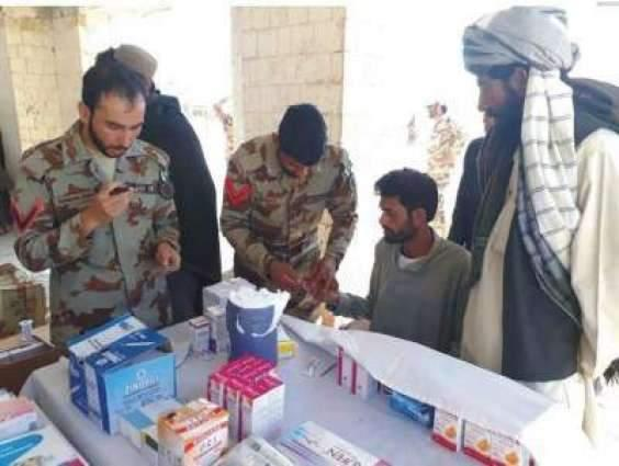 Frontier Corps Balochisan holds free medical camp in Harani's Spaintangi