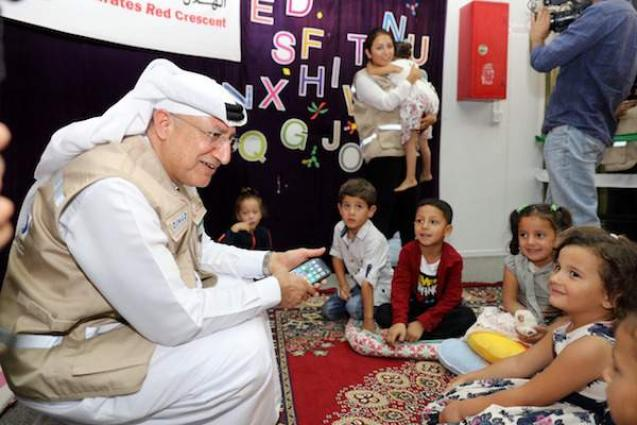 DIHAD offers ray of hope to Syrian children at 'Mrajeeb Al Fhood' Refugee Camp in Jordan