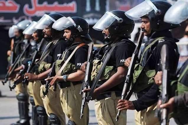KP Police take stringent security measures to ensure peace in Muharram-ul Haram