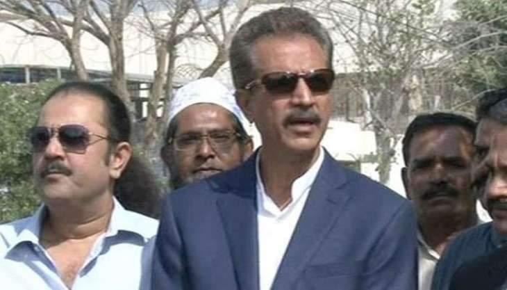 Mayor Karachi visits Mazar-e-Quaid