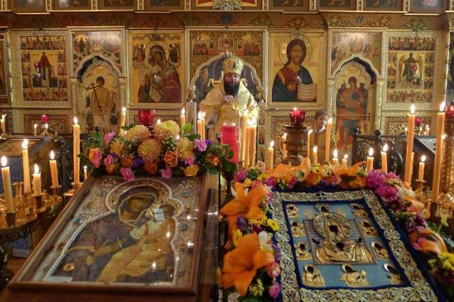 Orthodox Christians Visiting Russian Church in Washington to See Myrrh-Streaming Icon