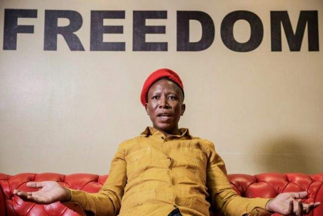Firebrand Malema fights for land revolution in S. Africa