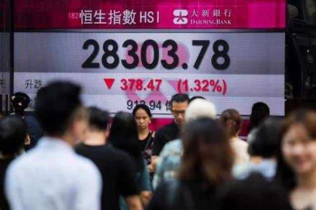 Hong Kong stocks end morning with further losses 12 September 2018-