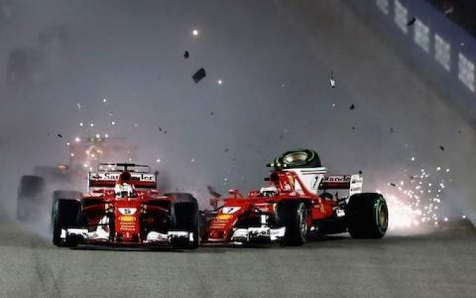 Formula One standings ahead of Singapore Grand Prix