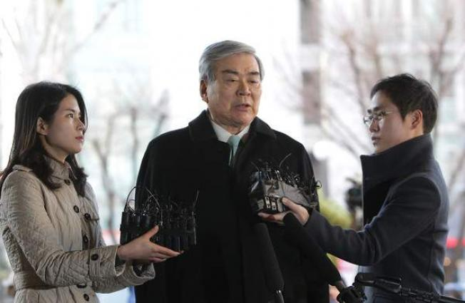 Police question Korean Air chairman for using company money for home security