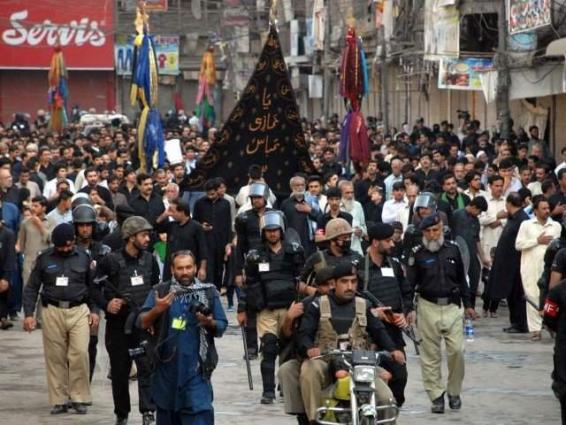 Stringent security measures taken for peace, religious harmony during Muharram