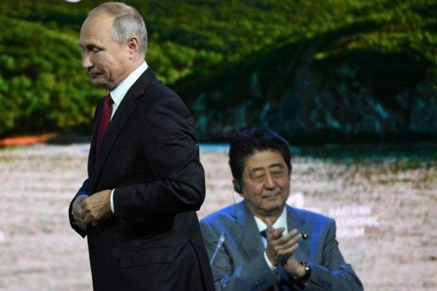 Putin suggests Russia, Japan agree peace deal 'without any preconditions' by year's end