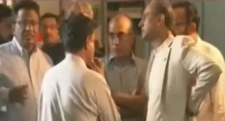 Saeed Ghani finds empty liquor bottle upon visit to pumping station