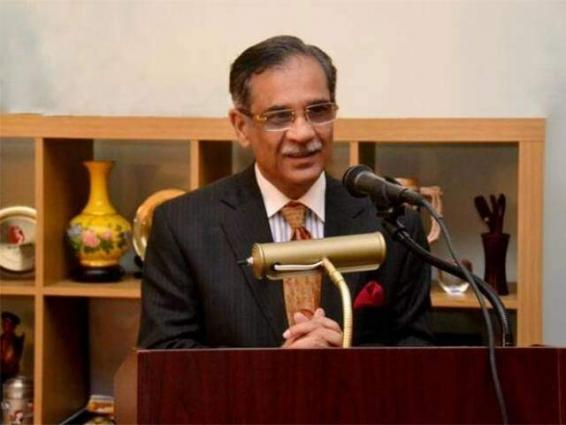 Those opposing construction of dams are on else's agenda: Chief Justice of Pakistan Mian Saqib Nisar