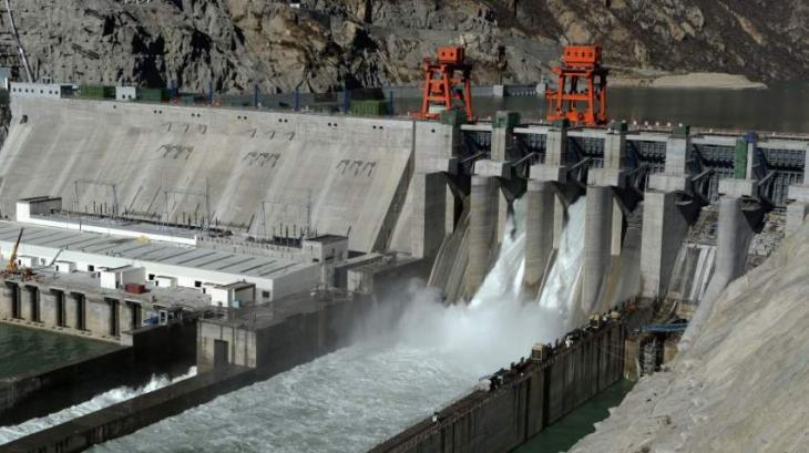 Dam funding a message of self reliance to international community