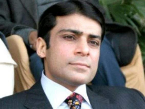 Hamza Shehbaz reaches Jati Umra