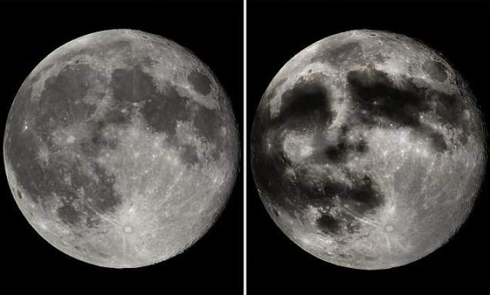 The 'man in the moon' illusion is caused by lunar swirls, new study finds