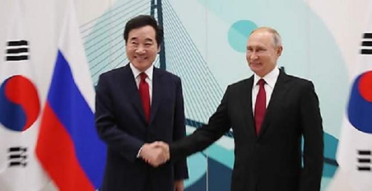 Putin calls S. Korea important partner in meeting with PM Lee