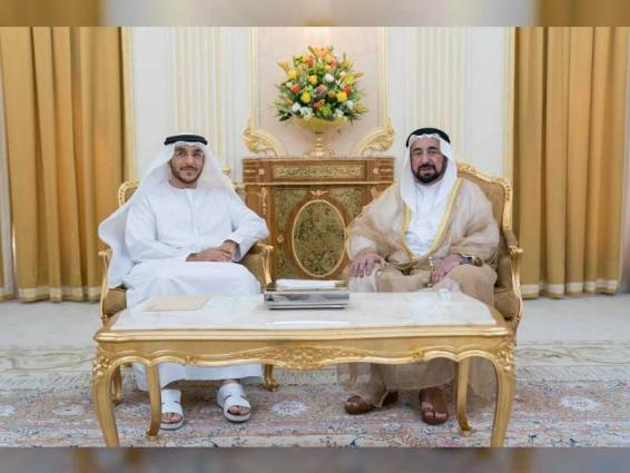 Sharjah Ruler receives Sharjah City Municipality Director-General