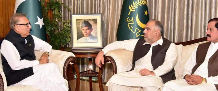 National Assembly, KP speakers call on President Dr Arif Alvi