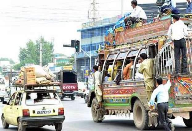 RTA Hazara issues revised fare list