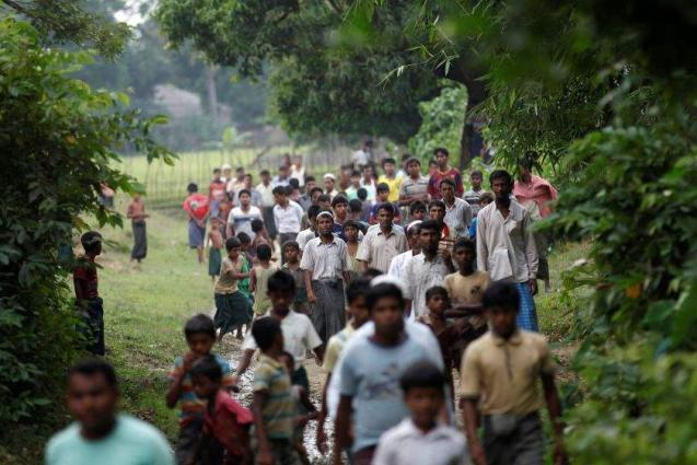 UN teams given first access to Myanmar's Rakhine