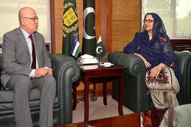 Uzbek Ambassador calls on Defence Production Minister