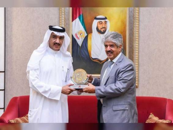 Ahmed Al Zaabi receives Secretary-General of Royal Charity Foundation of Bahrain
