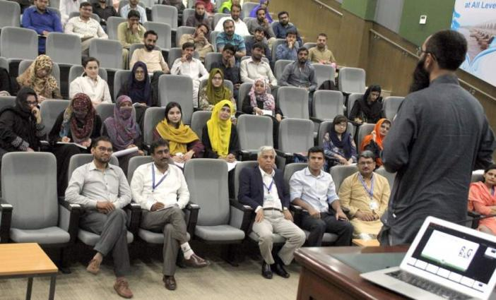 Graduate Seminar on Technology Innovation and Entrepreneurship: Ecosystem of Universities of Pakistan held at USPCAS-W MUET