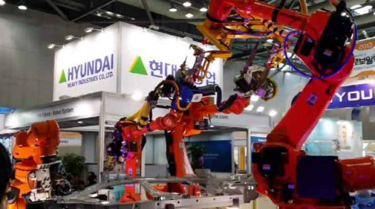 Hyundai Heavy Industries Holdings to make industrial robots in China