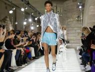 Balenciaga's spring show emerges from tunnel of trauma