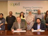 PTCL , WWF-Pakistan to kick of plantation drive 'Rung Do' from Oc ..
