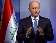 Barham Salih elected president of Iraq
