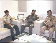 Ahmed bin Tahnoun receives Chairman of National Military Service  ..