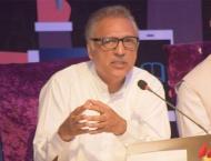 President Dr. Arif Alvi urges women parliamentarians, media to pl ..