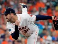 Astros belt four homers in win, Brewers down Rockies