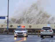 Typhoon Kong-rey leaves 2 dead, 1 missing