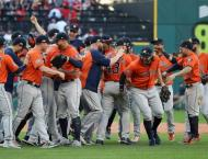 Astros, Dodgers win to advance in MLB playoffs, Red Sox roll