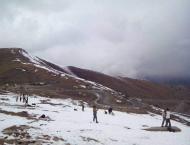 Babusar Top, Naran receive first snowfall of the season