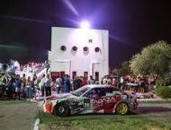 Palestinian champions 'drift' car racing for women