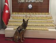 More than 100 kg of heroin seized in eastern Turkey