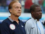 Nigeria's Rohr warns coach's departure may motivate Libya